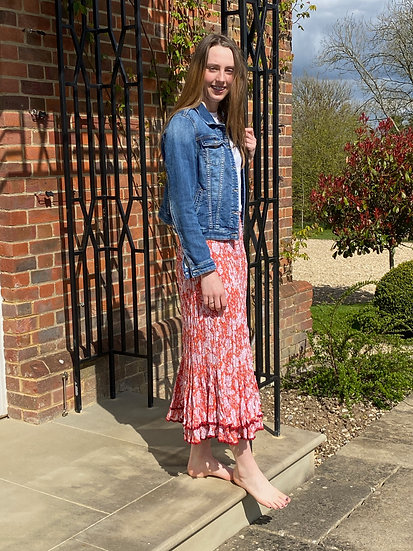 The Lola Double Frill Gypsy Skirt
