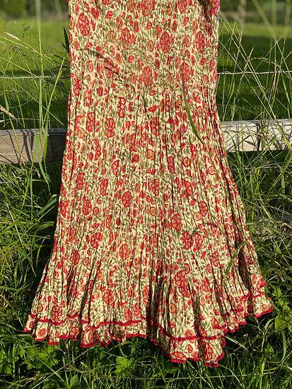 Double Frill Gypsy Skirt - The Isla