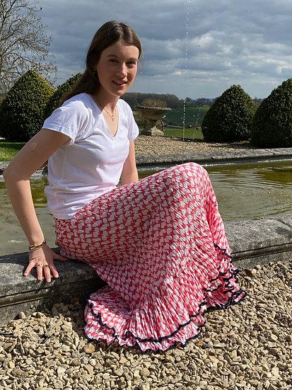 The Daisy Double Frill Gypsy Skirt