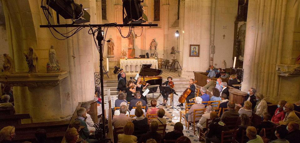 Musiques en Tonnerrois 2020 - concert de clôture / église d'Épineuil