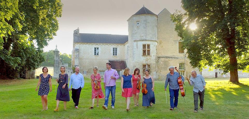 Musiques en Tonnerrois 2020 - la belle équipe / abbaye de Quincy