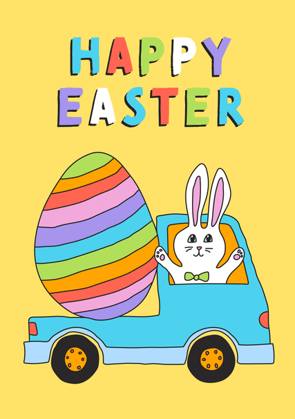 Easter card 2020