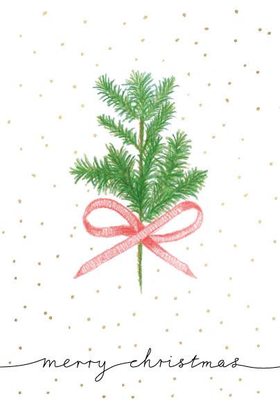 fir branch Christmas