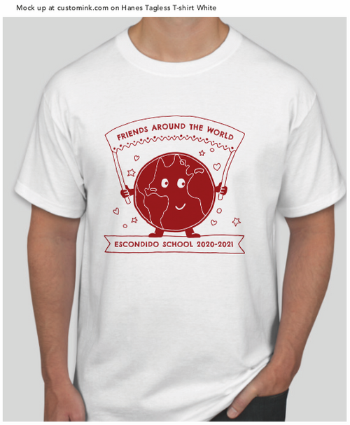 Escondido school fundraising t-shirt