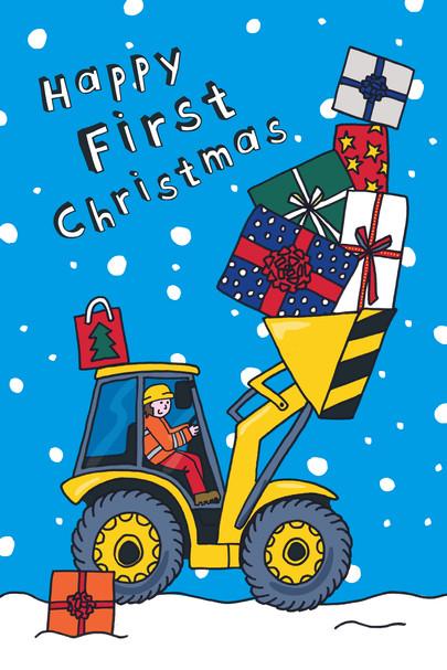 First Christmas Digger