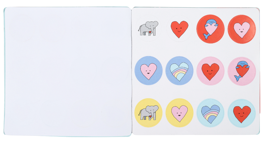 stickers (fold and send)