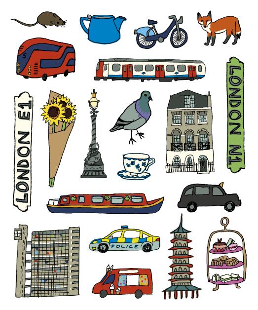 london stickers