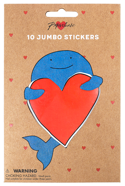 jumbo sticker packaging