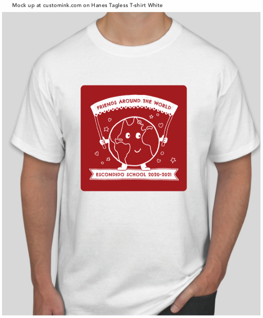 Escondido school fundraising t-shirt
