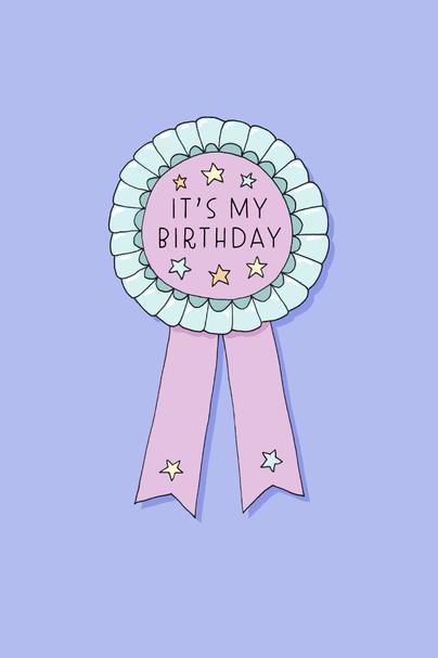 Birthday Rosette