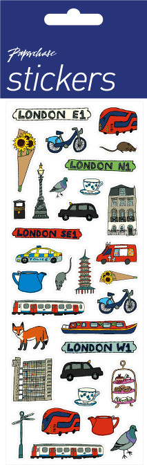 london icons stickers