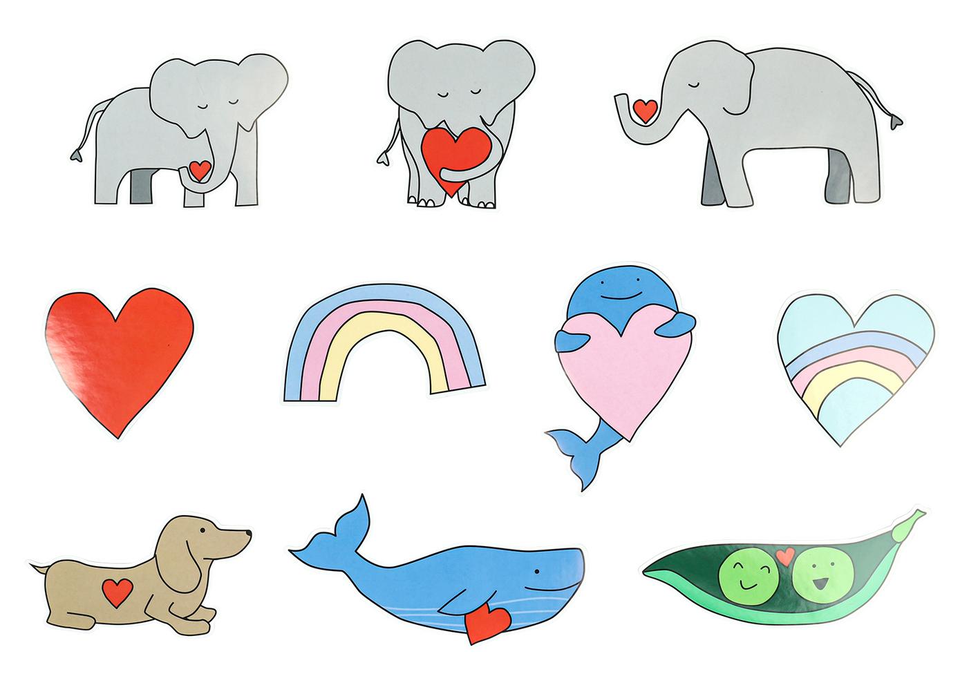 jumbo stickers