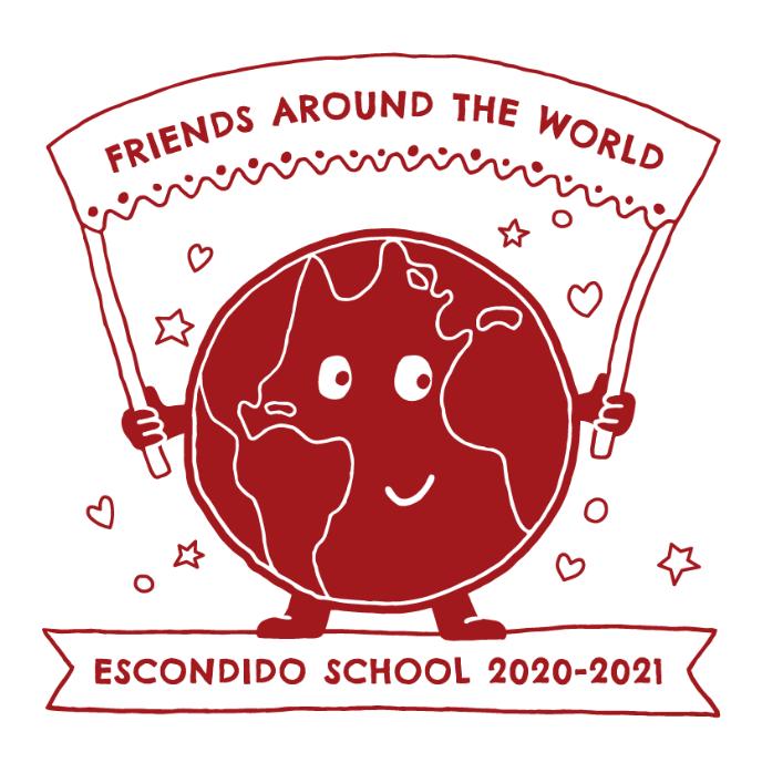 Escondido school fundraising t-shirt design