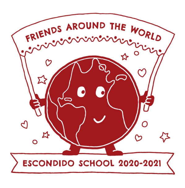 Escondido school fundraising t-shirt design