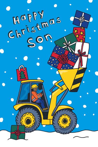 Christmas Digger - Son