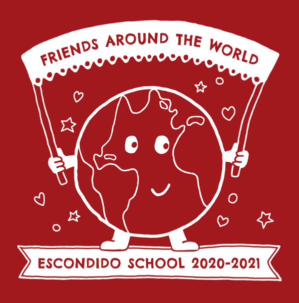 Escondido school fund-raising t-shirt