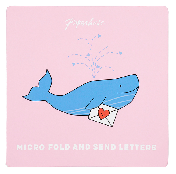 fold and send letter set