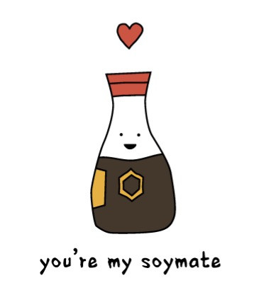 you're my soymate