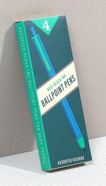 ballpoint pens packaging