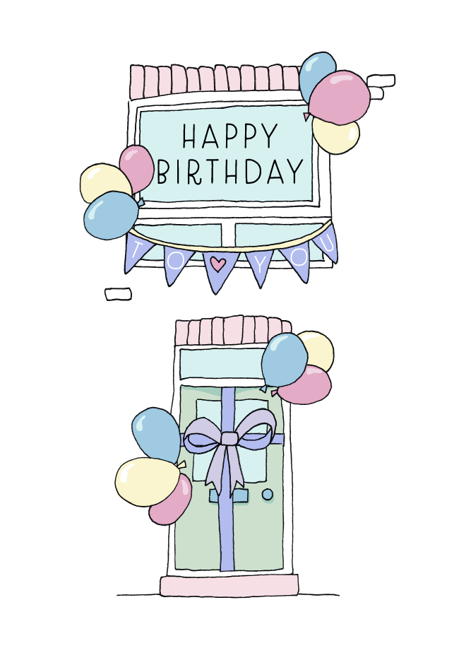 Birthday at home