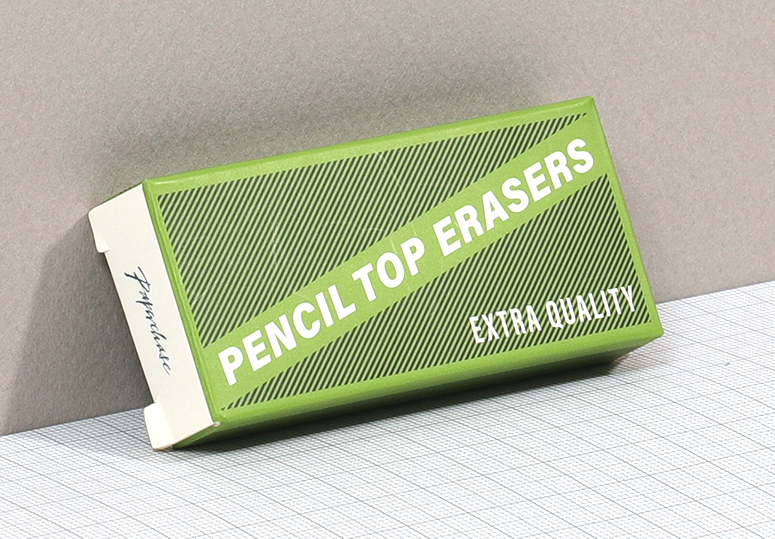 pencil top erasers packaging