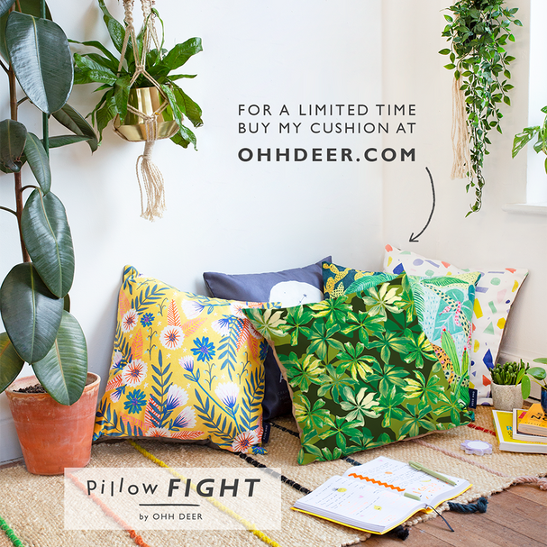 Ohh Deer Pillow Fight entry