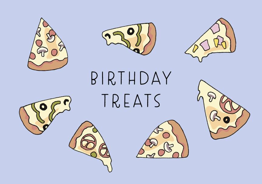 Birthday Pizza