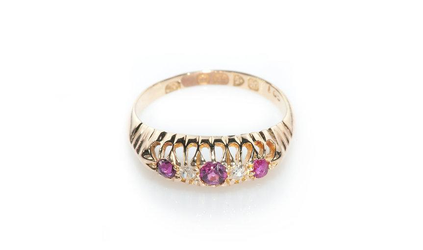 Ruby Ring from KK Vintage