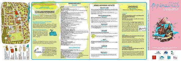 Pyrénicimes 2016 - Programme Verso
