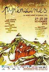Pyrenicimes 2014 Affiche BD par Seb Cazes