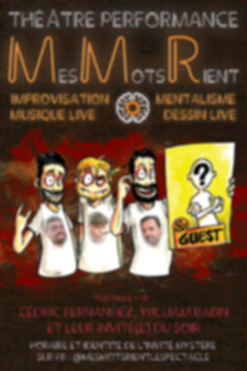Affiche Spectacle MMR