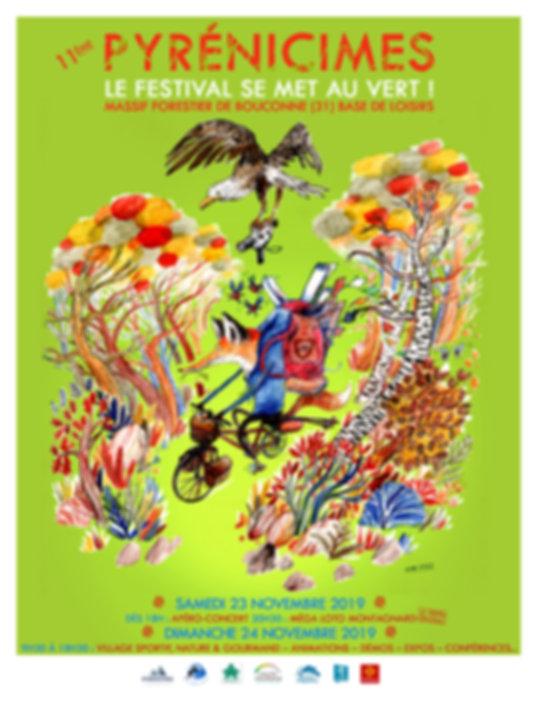 Pyrénicimes 2019 - Programme - Recto