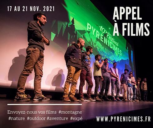 Pyrenicimes 2021 Appel à Films