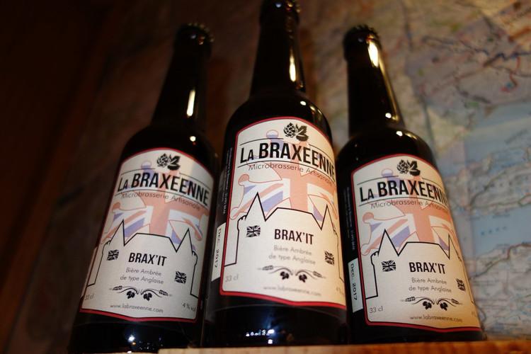 Coffret de 3 bières La Braxéenne