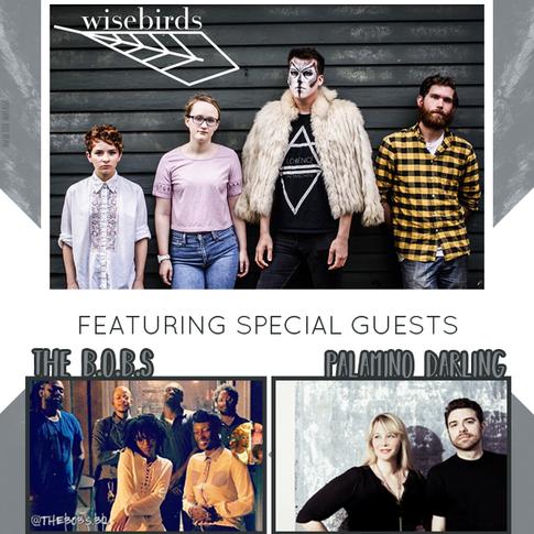 Wisebirds EP Release Show Flyer