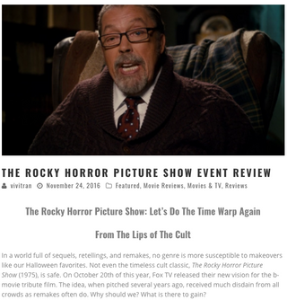 """""""The Rocky Horror Picture Show Event Review"""""""