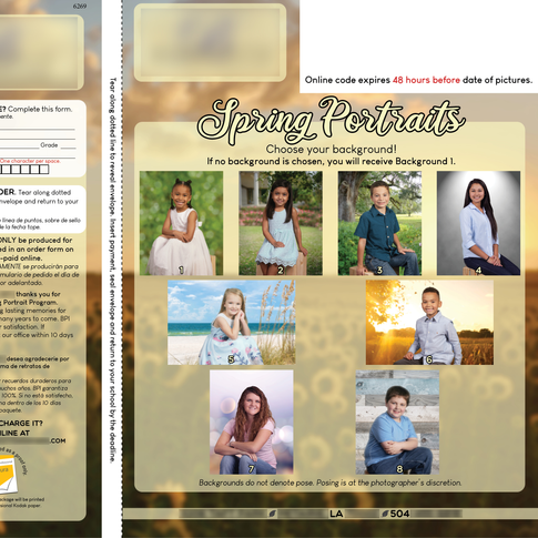 Spring Picture Brochure Cover