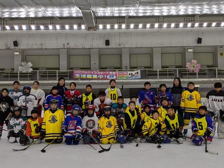 2020/12/4-6 Ice Hockey Camp Fukuoka Completed!!