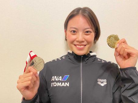 競泳ジャパン・オープンで大本選手女子50m自由形優勝!