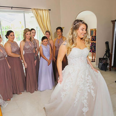 florida wedding hair and makeup, bride