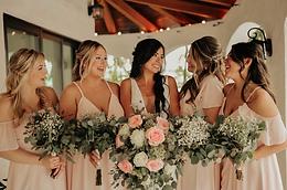 pink-dress-bridal-party-florida-wedding-