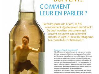 Education à la santé : Les ados boivent... Comment leur en parler?