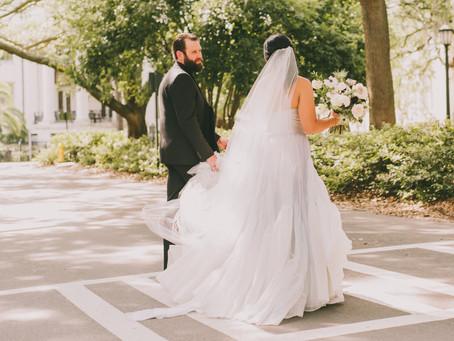 Historic Savannah, Georgia Wedding