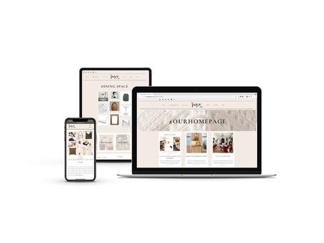 The Page Edit | Showit Website Design