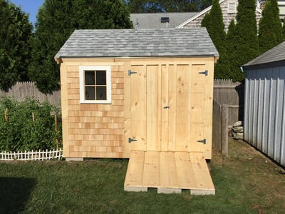 Soft Washed Shed in Sandwich
