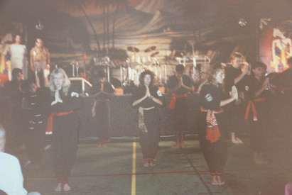 Silat demo with Ma's first generation students in Holland