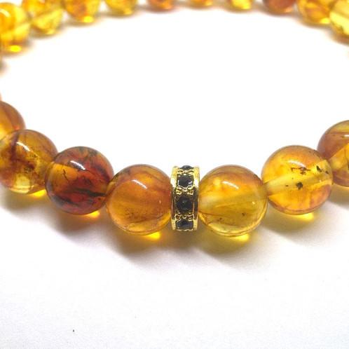 Женские браслет из янтаря