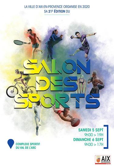 Affiche Salon des Sports 5 & 6 septembre