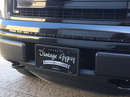 Vintage Gypsy Licence Plate