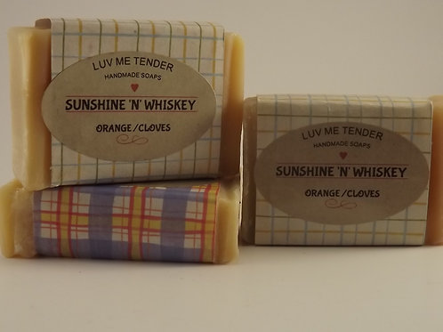 Sunshine & Whiskey (Orange & Cloves)